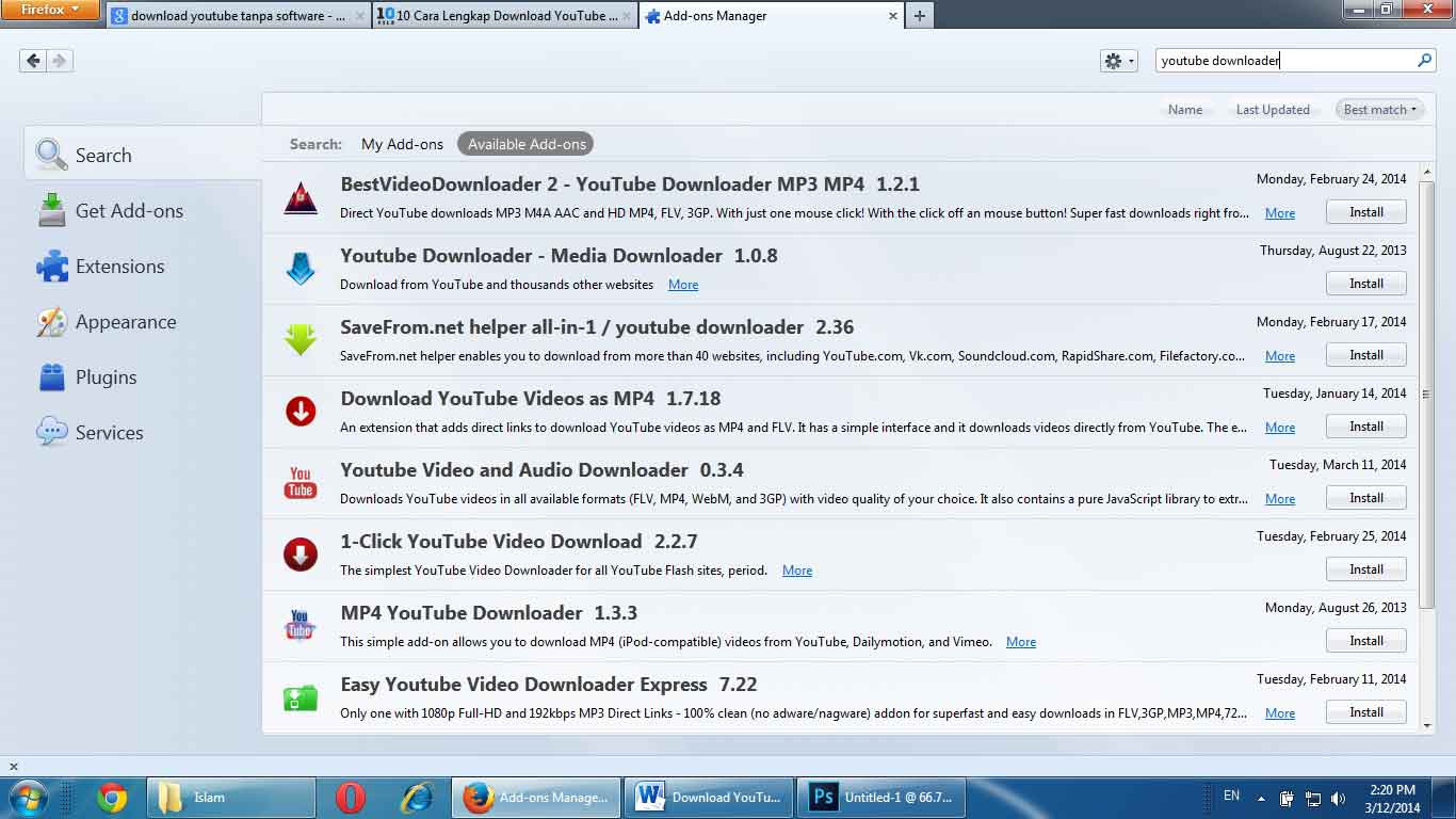 add-ons-youtube-downloader