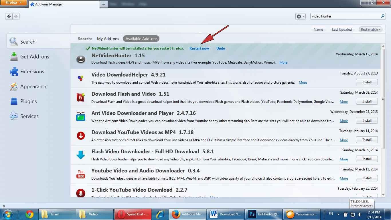 netvideohunter-restart